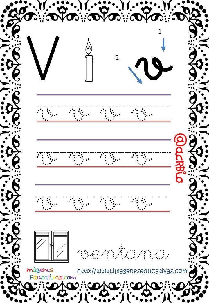 Cuaderno de trazos Imágenes Educativas Letras Escolar | educación ...