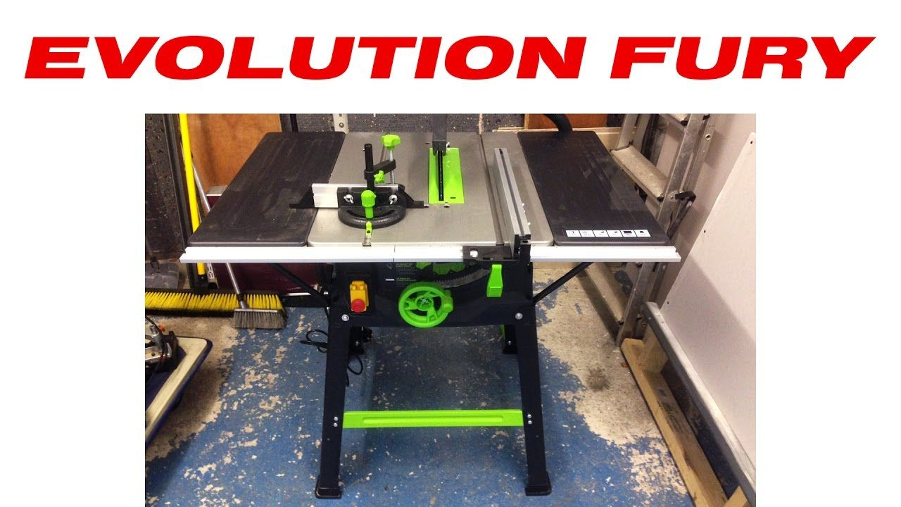 Evolution Fury 5 S Table Saw Review Table Saw Reviews Table Saw Fury