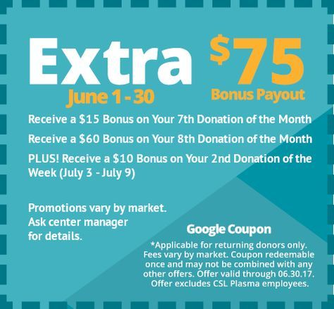 Plasma Donation Centers - CSL Plasma | plasama | Extra money