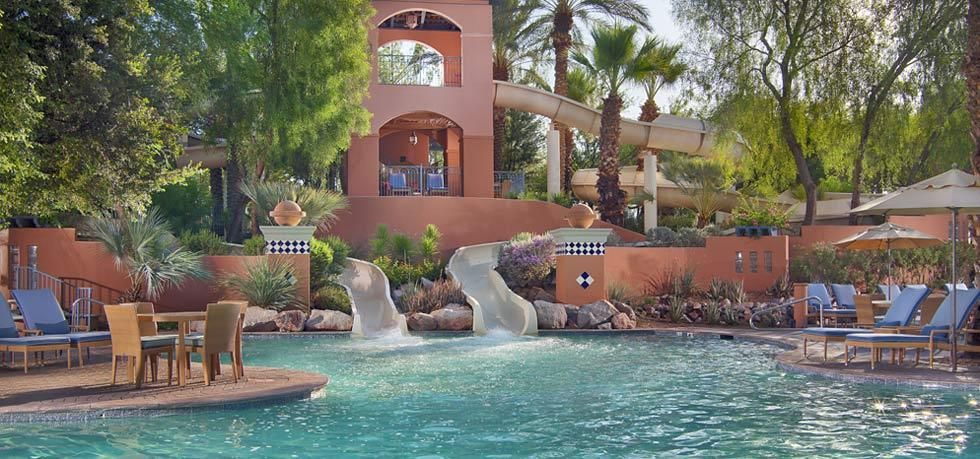 Scottsdale Arizona Hotels Fairmont Resort Hotel Photos They Have Awesome Family Raver Pool Parties Here At Night So Fun