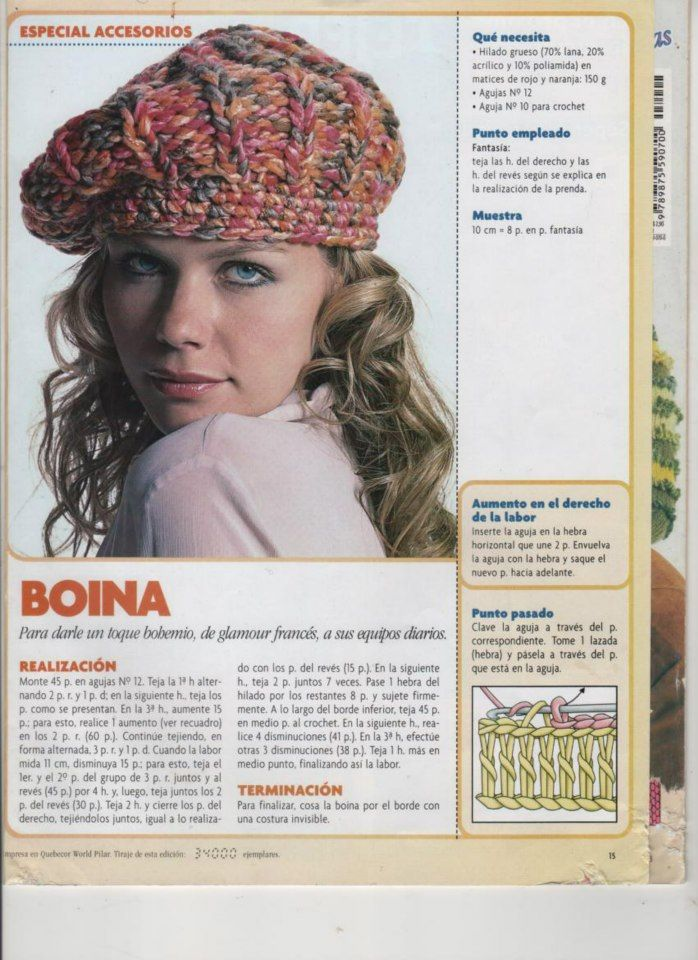 Manualidades ALOCADAS.: 82/13 GORROS | KNITTING.CROCHET.WEAVING ...