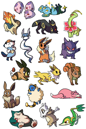 Stickers Pokemon.Facebook Stickers Pokemon In 2019 Pokemon Stickers Emoticon