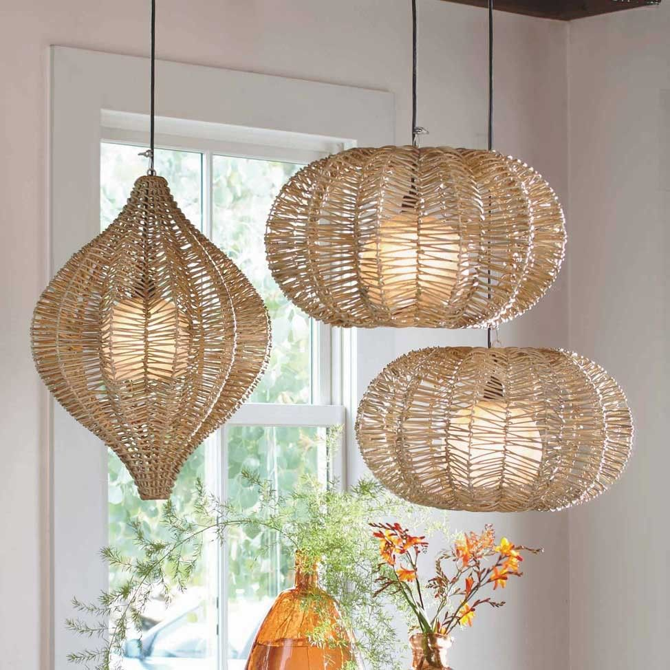 Wicker Outdoor Hanging Lights: Artsy.ethnique-licious In 2019