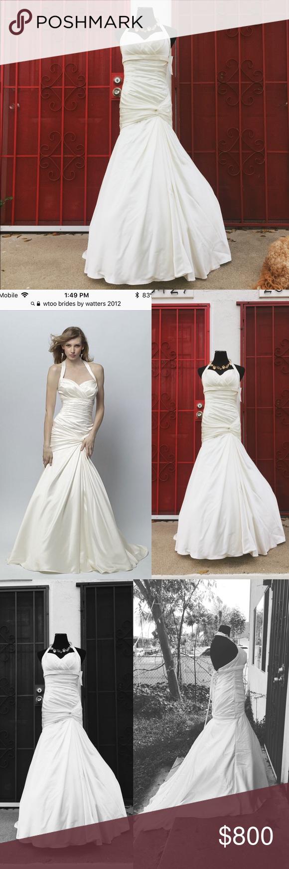 Wedding dress dry cleaning near me  Ivory Wedding Dress by Watters NWT  My Posh Picks  Pinterest