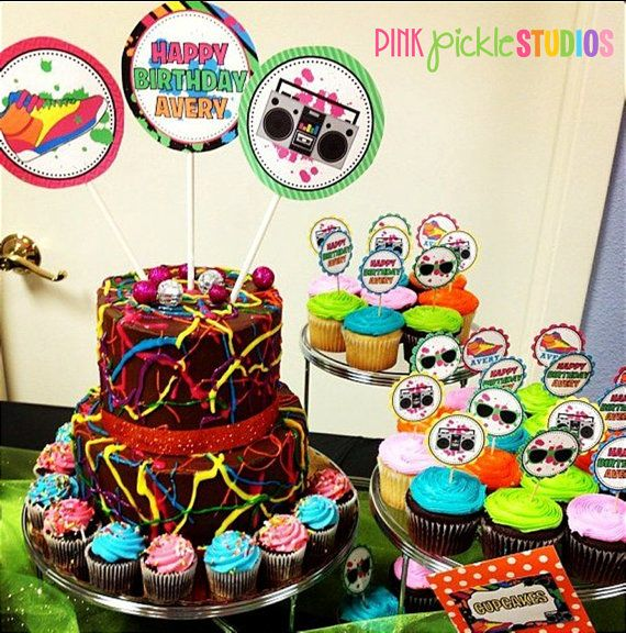 HIP HOP DANCE Party Package Personalized by PinkPickleParties, $30.00