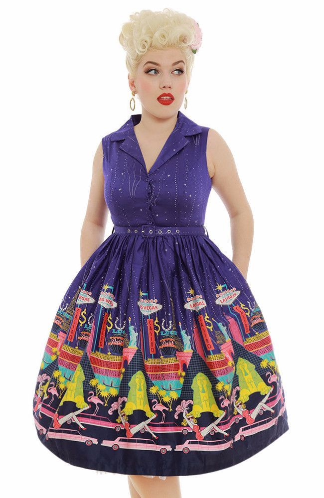 Lindy Bop Matilda Dress in Vegas Strip | Matilda, Absolutely ...
