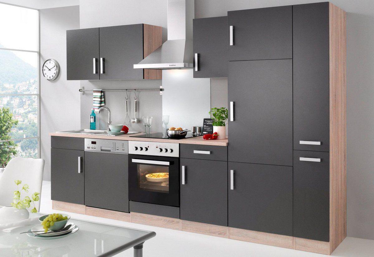 Held Mobel Kuchenzeile Mit E Geraten Toronto Breite 310 Cm Online Kaufen Kitchen Cabinets Kitchen Cabinet