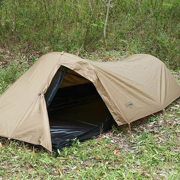 SnugPak Ionosphere Coyote Tan One Person Tent - C&ing and Survival Gear : one man survival tent - memphite.com
