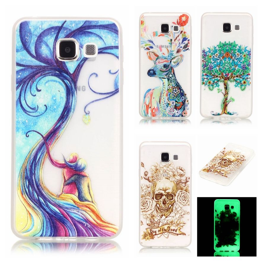 Luminous Case Sfor Samsung A3 2016 Case For Samsung Galaxy A3 2016 A310 A310f Bright Glow In Dark Soft Tpu Phone Shell Cover