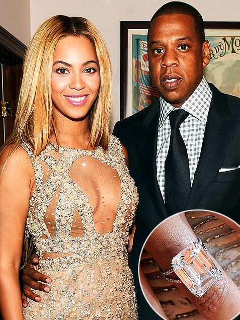 BeyonceU00c2 S 18 Carat Engagement Ring From Jay Z F 21 Double or