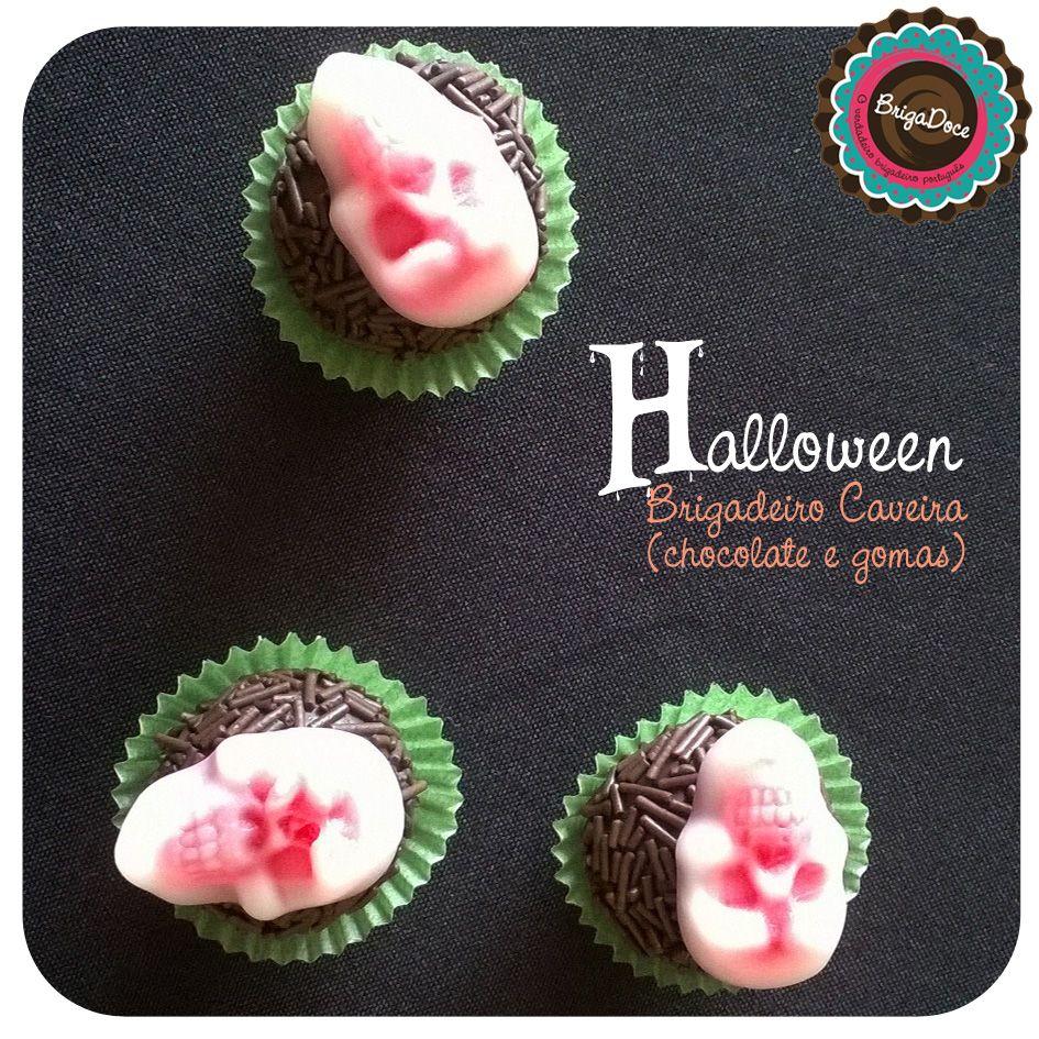Sweet Halloween 2014 - Brigadeiro chocolate & gomas