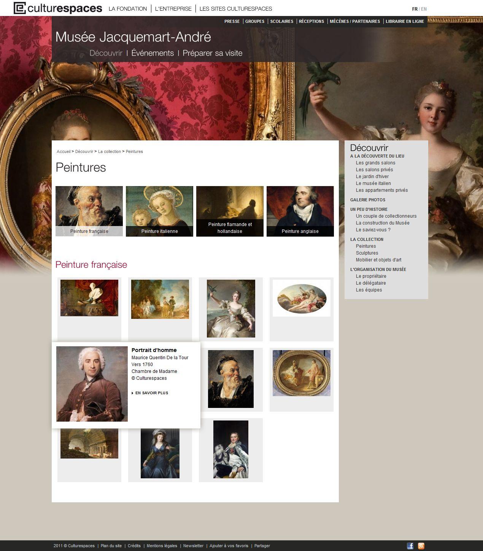 Culturespaces : création et réalisation des 11 sites internet des lieux et monuments + minisites événementiels + opérations emarketing #Minitl  www.minit-l.com