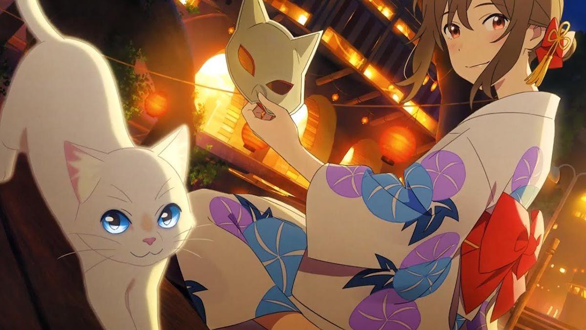 olhos de gato en 2020 Películas de anime, Fondo de anime