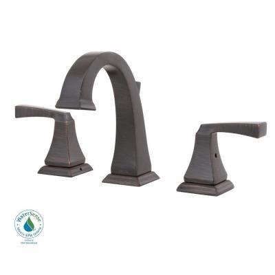 delta dryden 8 in widespread 2handle higharc bathroom faucet in venetian - Delta Dryden