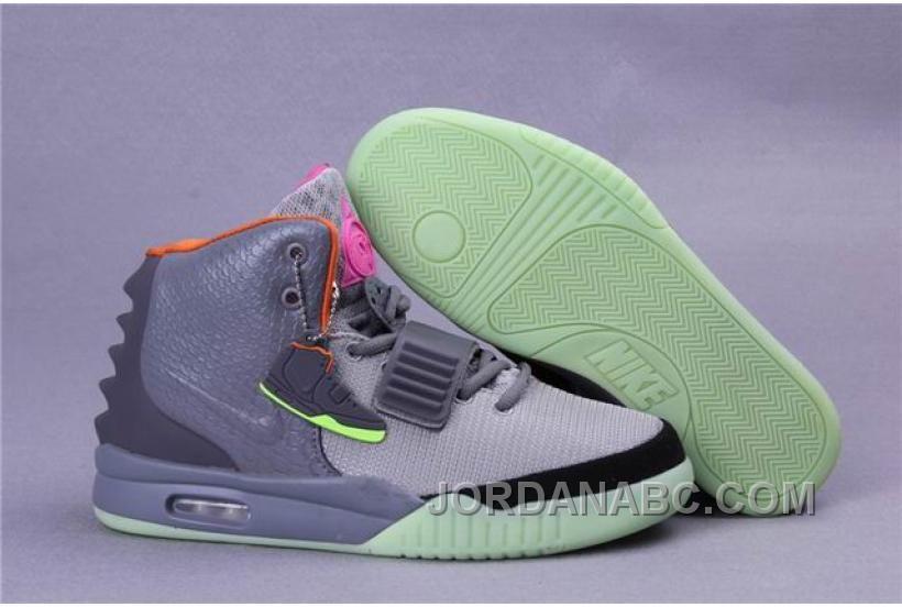 Nike Air Yeezy 2 Bird Of Paradise Grey Silver Black Air Yeezy Nike Air Max Nike Air