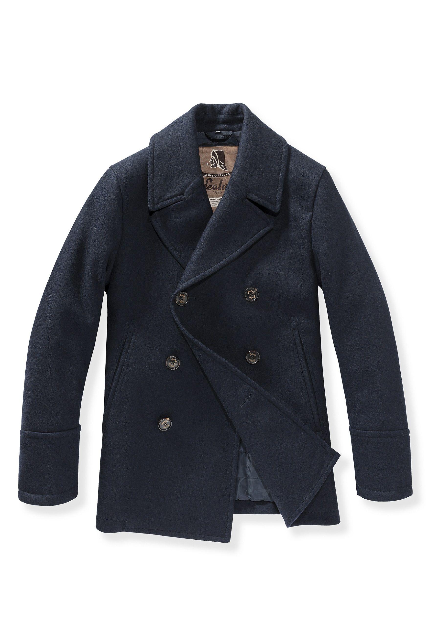 best authentic 1ebdc 184fe Sealup AW2014 peacoat   Menswear   Caban, Abbigliamento uomo ...