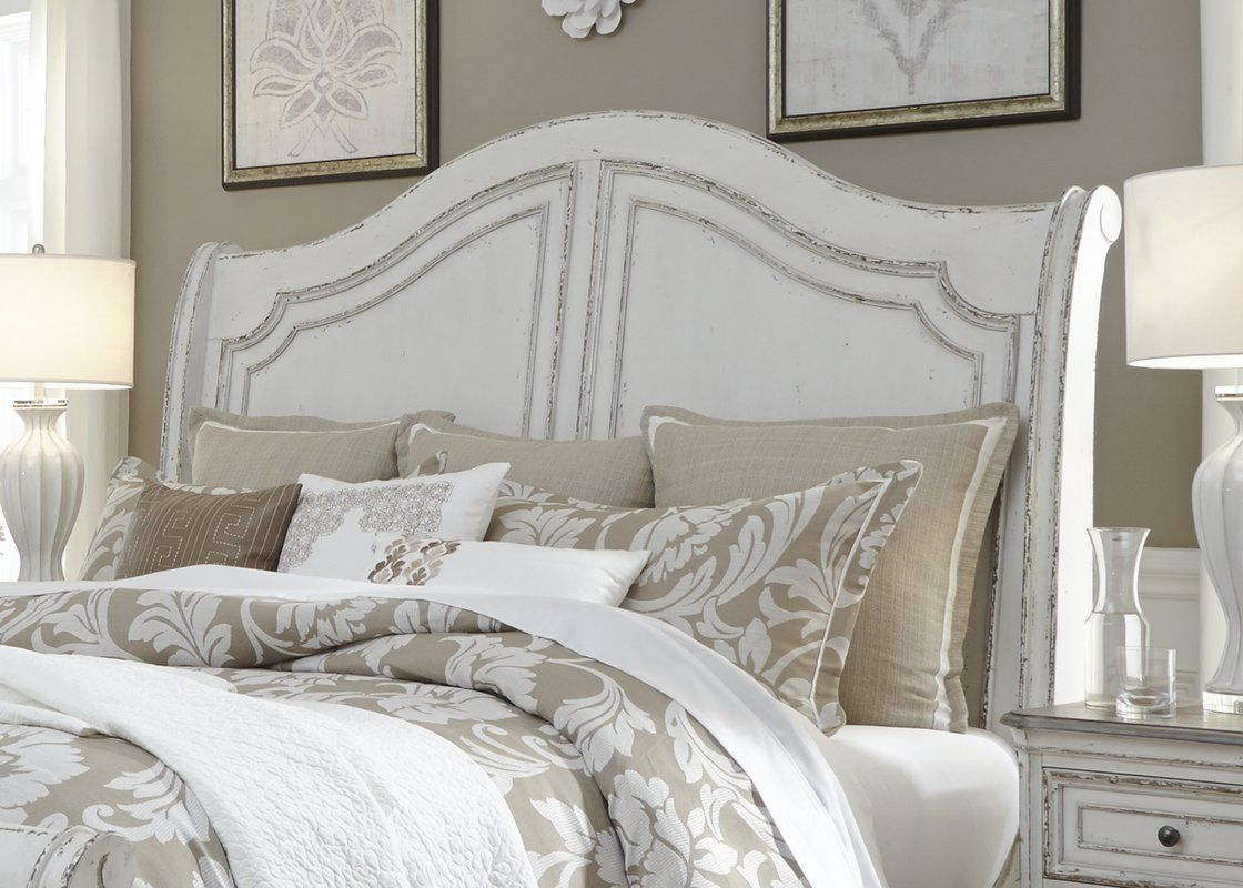 One Allium Way Niels Sleigh Bed Wayfair Sleigh Beds