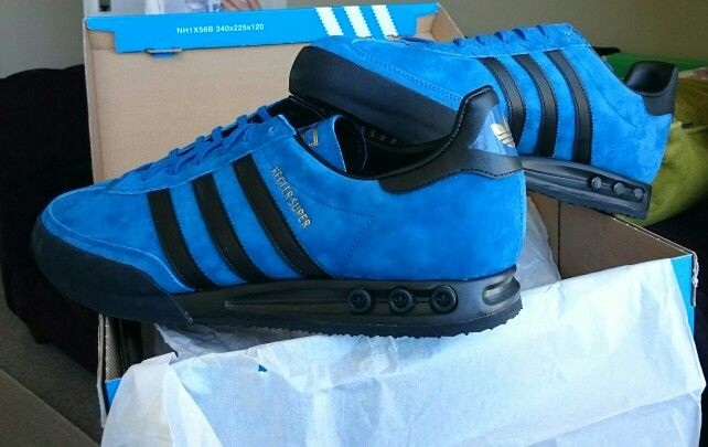 75e602b87 Yehey! My Kegler Supers have arrived in Marine Blue   Black - stonkers!