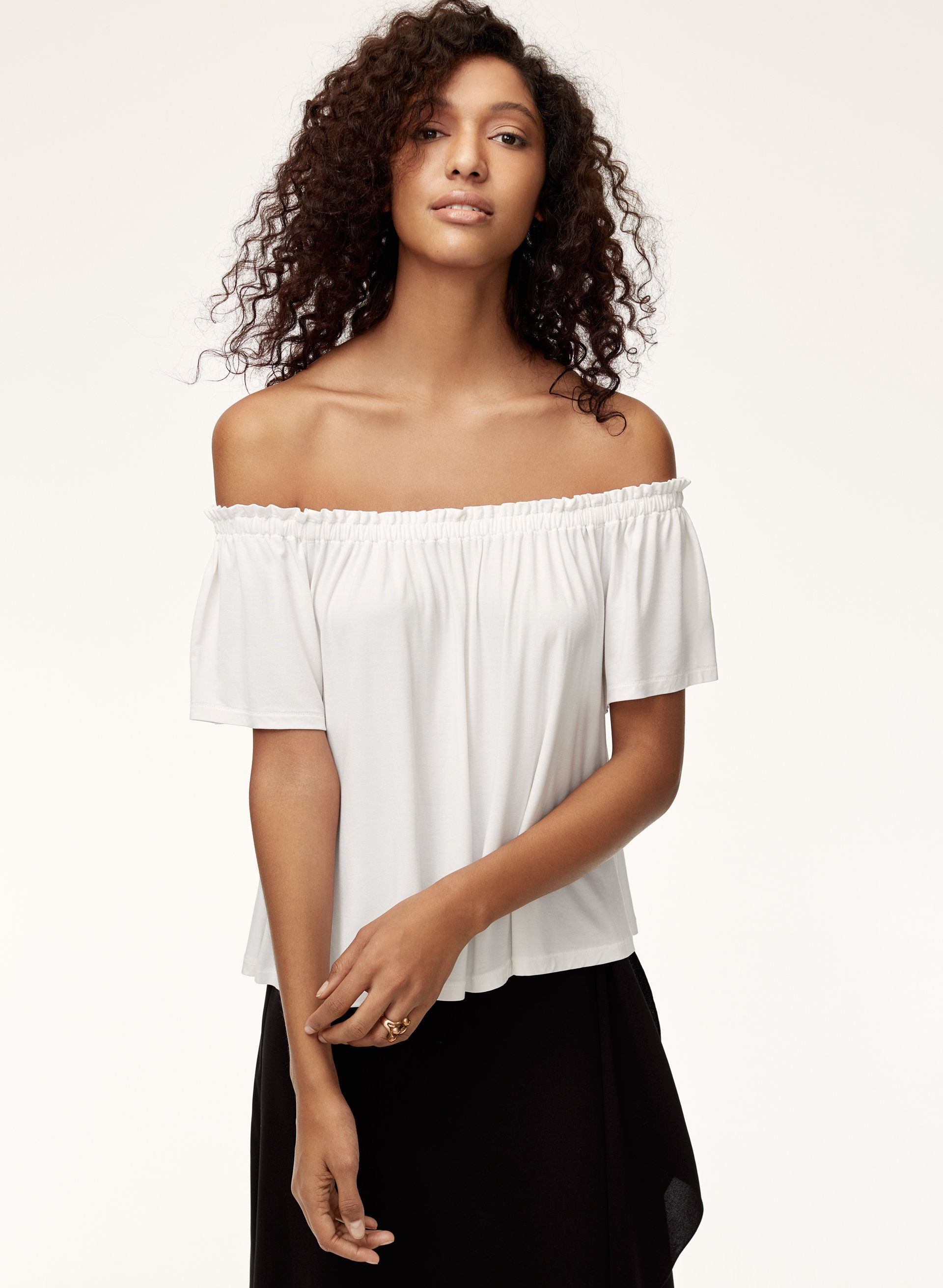 64fff992395fea Sartre t-shirt | ss18 | Shirts, T shirt, Off shoulder blouse