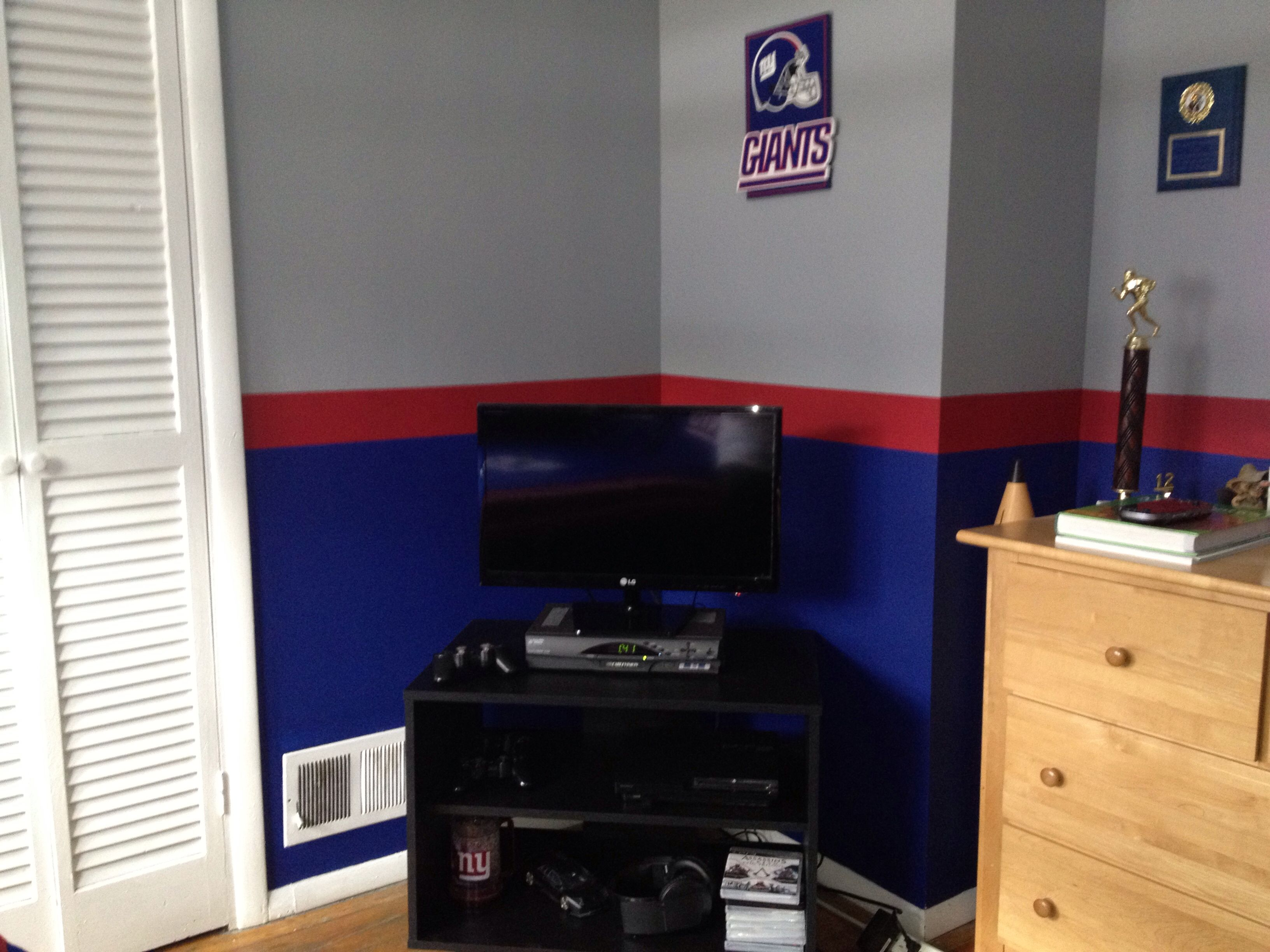 NY Giants Bedroom