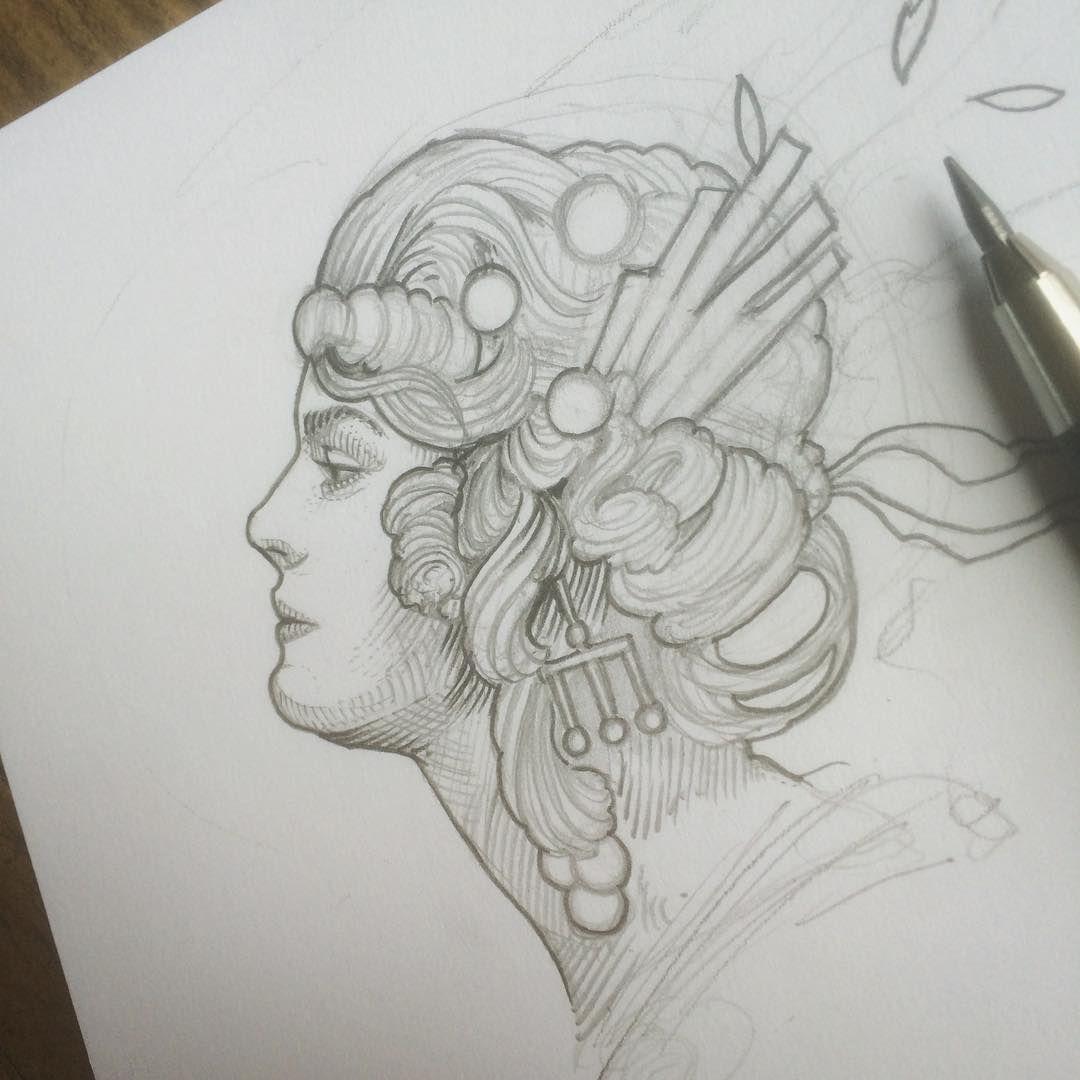 Morning sketching.. ✍✨ #richeybeckett #painscastle