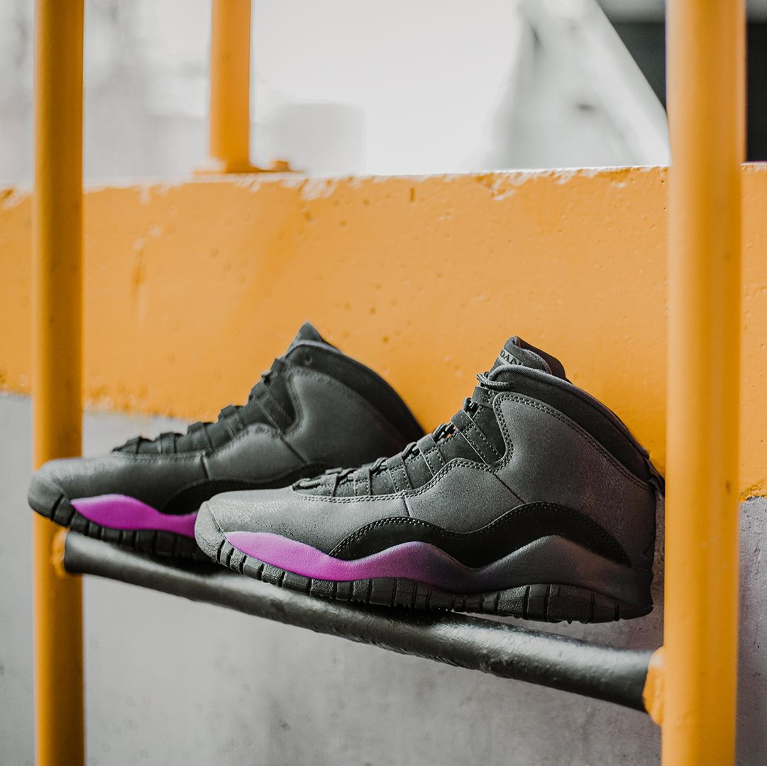 super popular f0c5b 6ad19 Air Jordan 10 GG Heiress Black / Fuchsia Blast | J's ...