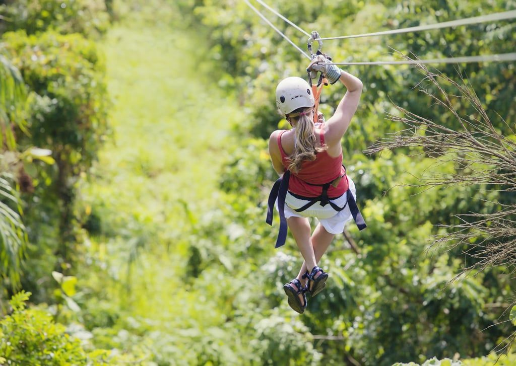 For The Thrill Seeking Bride Zip Lining And More Ziplining Zipline Adventure Adventure