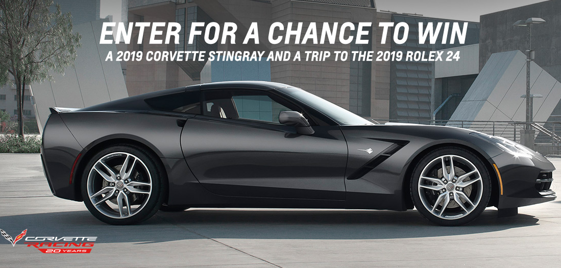 Enter The Race To Win Corvette Sweepstakes Now For Your Chance To