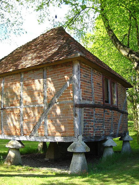 Brick Timber Frame Homes : A th century timber frame brick outbuilding at