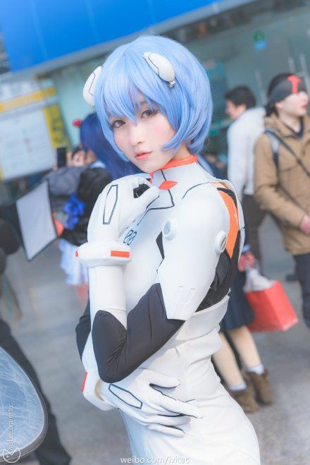 costume cosplay Rei ayanami
