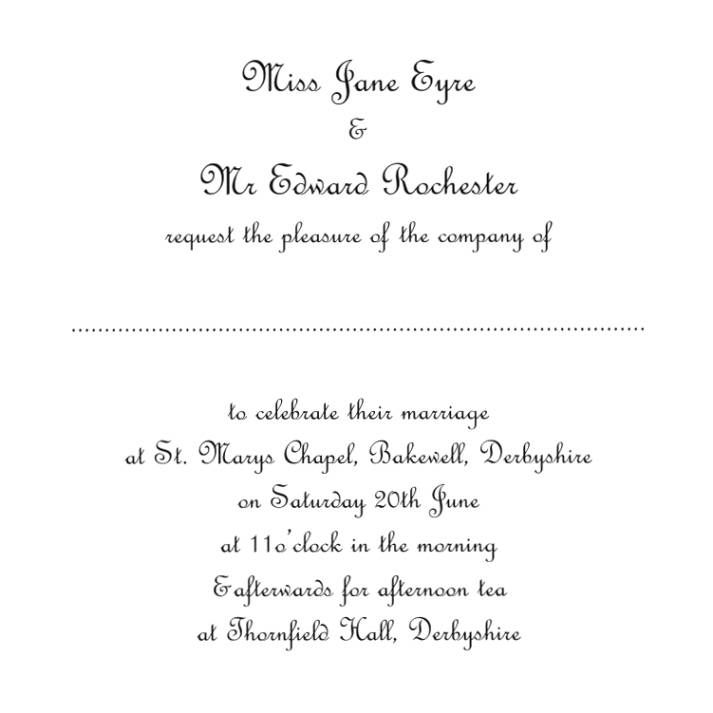 wedding invitation wording templates- Top selection of wedding ...
