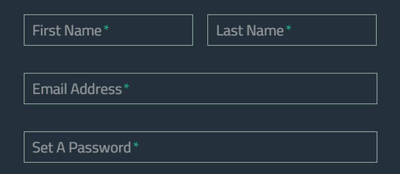 WellDesigned Website Registration And Login Forms  Website