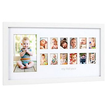 Pearhead Photo Moments Frame Kohls In 2020 Baby Picture Frames Baby Frame 12 Month Picture