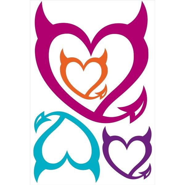 bad girls club devil heart wall clings i want pinterest wall rh pinterest co uk bad girls looking for a home in essex bad girl logo wallpaper