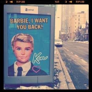 Ken wants Barbie back