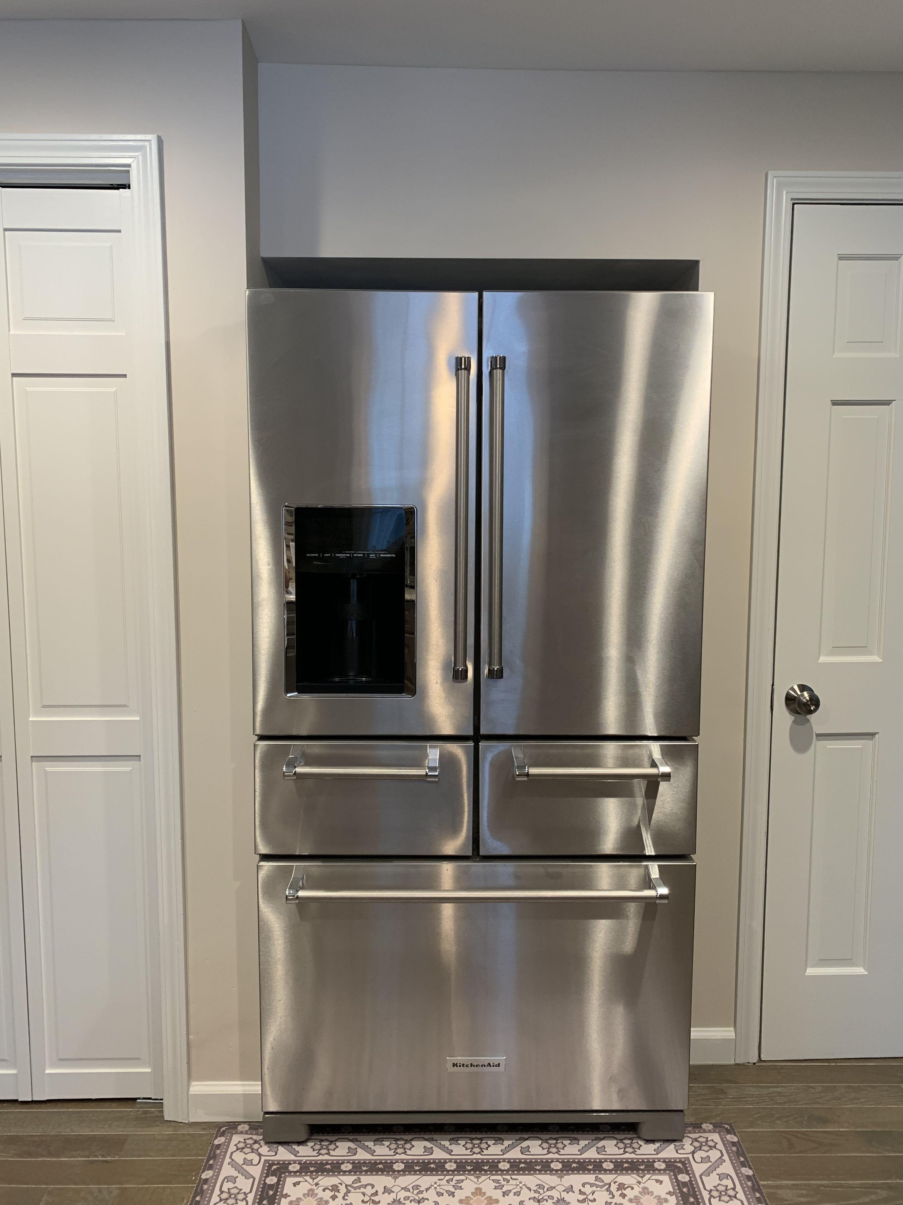 Kitchen aid 5 door refrigerator home depot casas