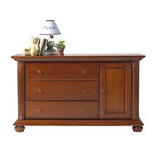 Baby Cache Heritage Dresser Changer Combo Chestnut