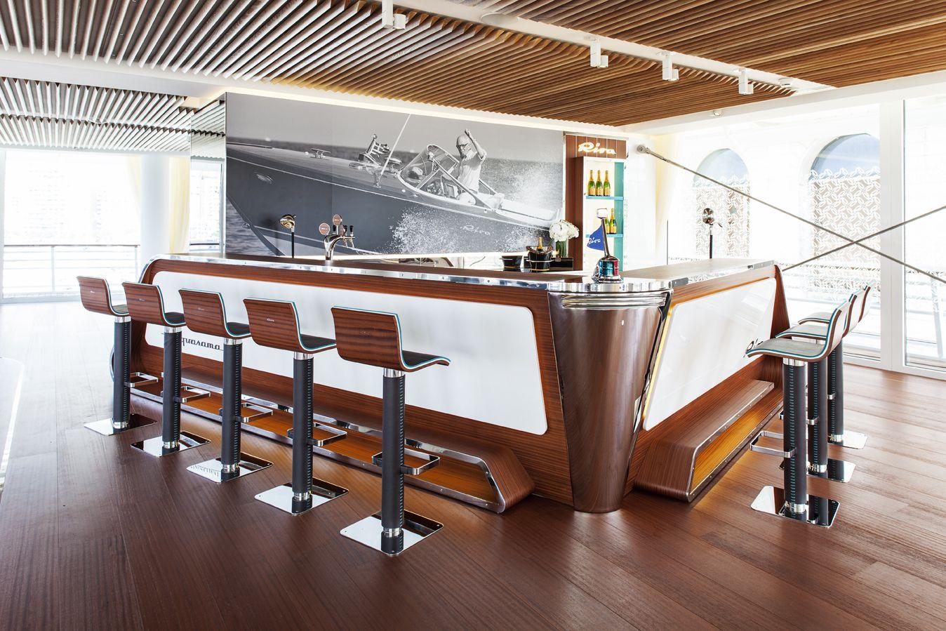 The Riva Yacht Aquarama Lounge