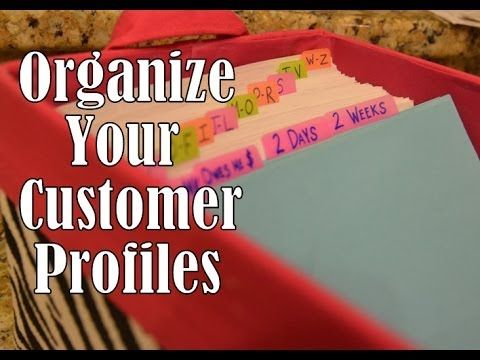 SIMPLY ORGANIZED \ Pretty Customer Profile Box (+playlist) Mary - customer profile