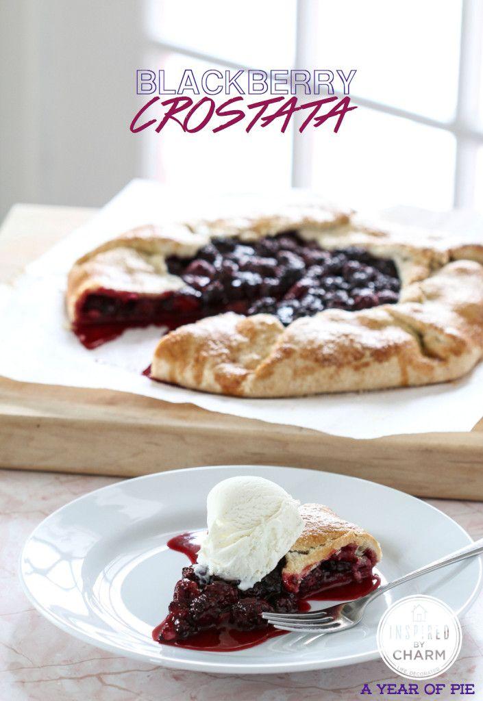 Blackberry Crostata | Inspired by Charm