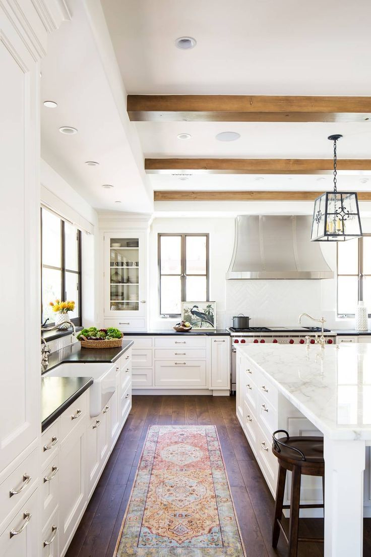 Classic Spanish Meets California Cool in This Striking Kitchen Makeover