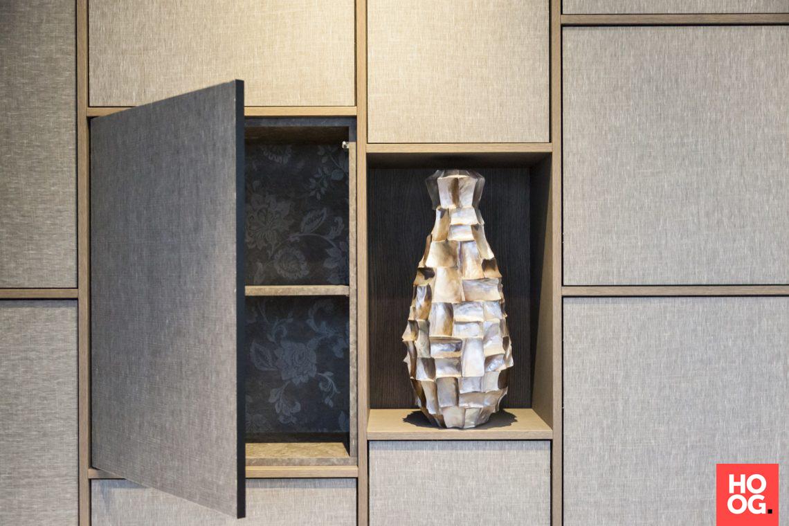 Decolegno decorspaanplaten in kantoorpand hoog □ exclusieve