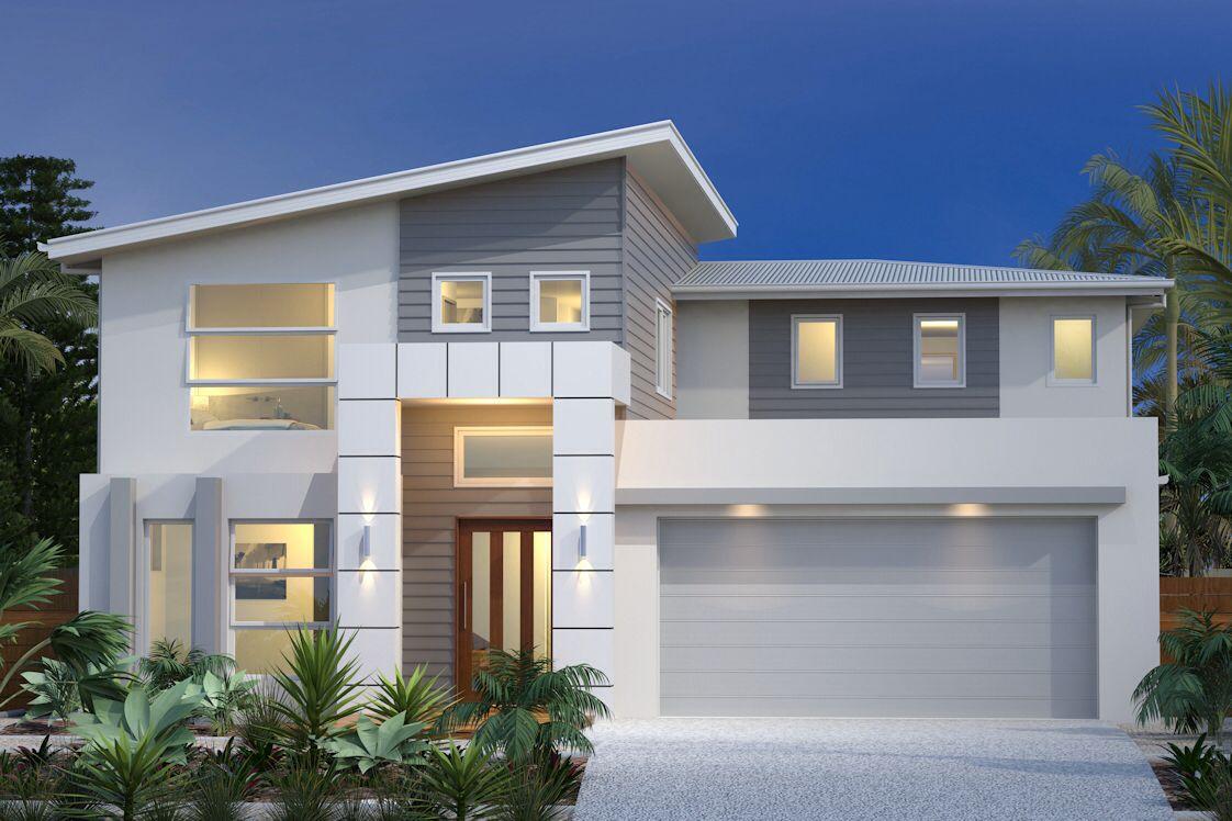 Best Coastal Skillion Roof Facade House House Exterior 640 x 480