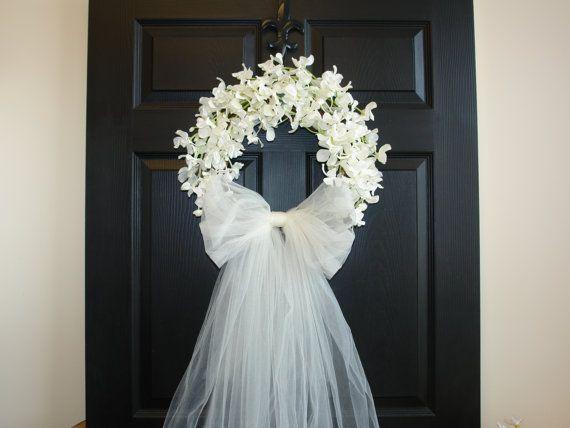 Verwonderlijk Bridal shower decorations wedding wreaths front door wreaths JC-38