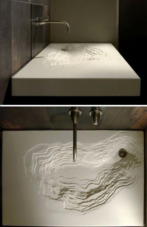 Coole Ideen für modernes Waschbecken im Bad - großartige Spüle Designs #beautifulnature