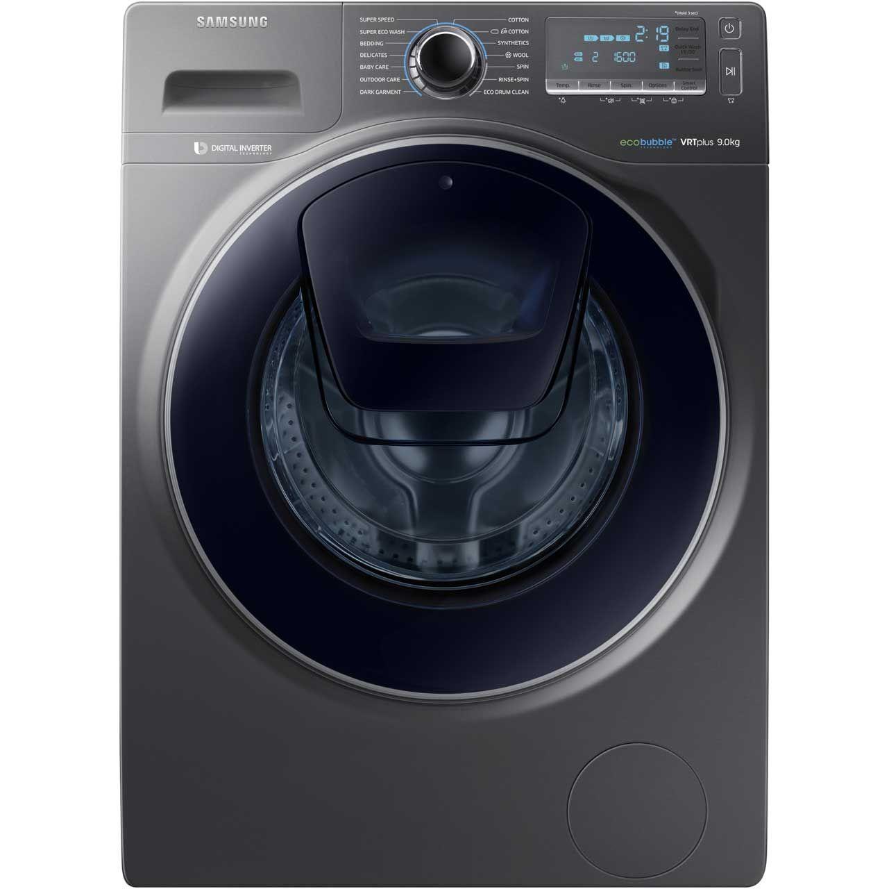 Samsung AddWash™ Ecobubble WW90K7615OX Wifi Connected 9Kg Washing ...