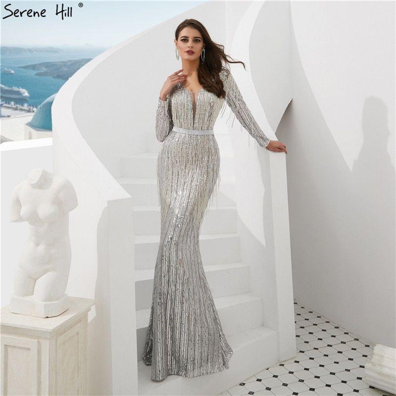 fa306c87e8d47 Shaking Mermaid Fashion Elegant New Evening Dresses 2019 Long ...