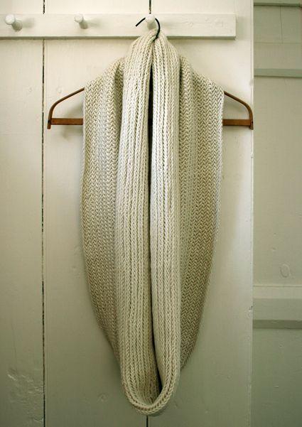 Malhas de Whit: Big Herringbone Cowl - The Purl Bee - Knitting Crochet Costura Padrões e Idéias Bordados Artesanais!