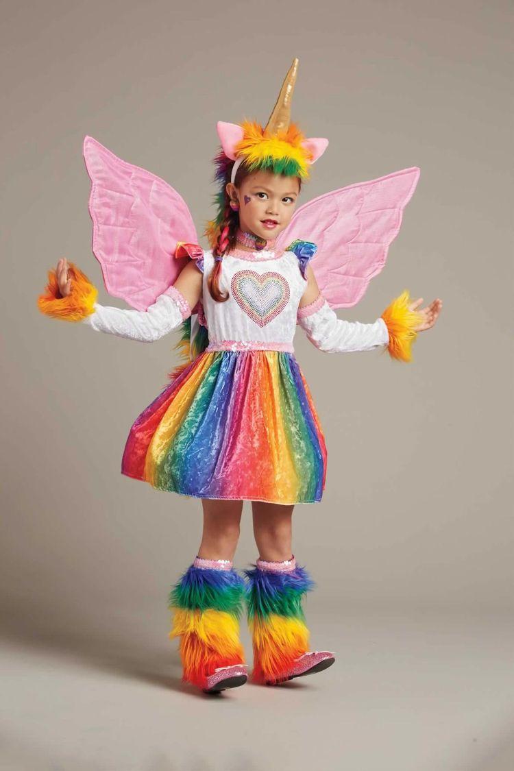 Einhorn Kostum Kind Ideen Anleitun Inspirationen Carnival Fasching