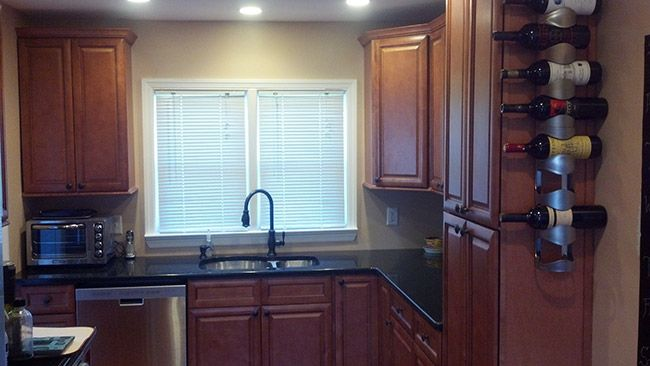 Cinnamon Glaze   Kitchen cabinet styles, Shop kitchen ...